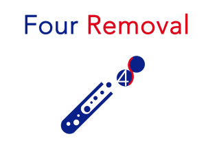 Four Removal logo icon small